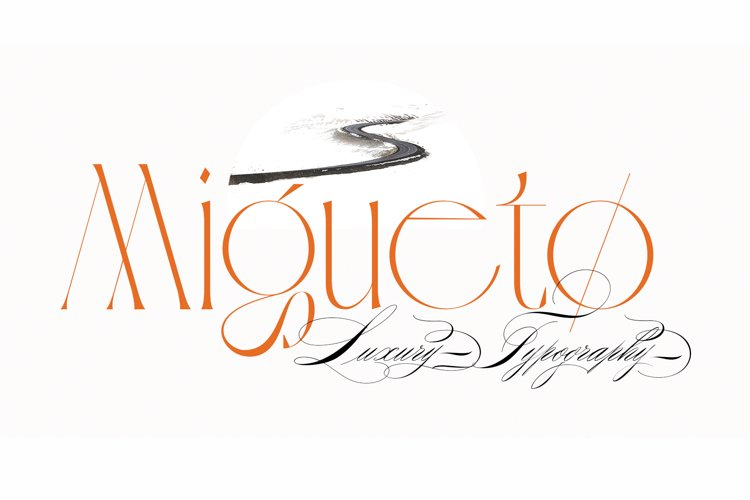 Migueto Serif Typeface example image 1