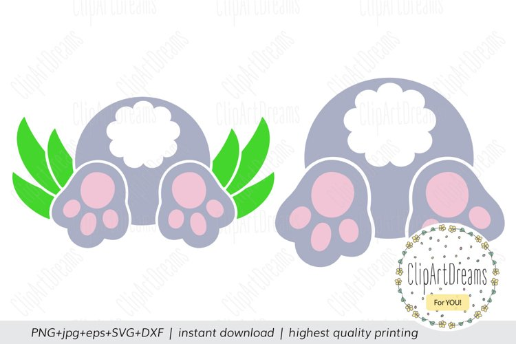 Bunny Butt Svg Easter Svg Files For Cricut Designs Svg Cut Files Silhouette Svg Cutting File Cricut Svg Files Dxf Files Easter Bunny Svg