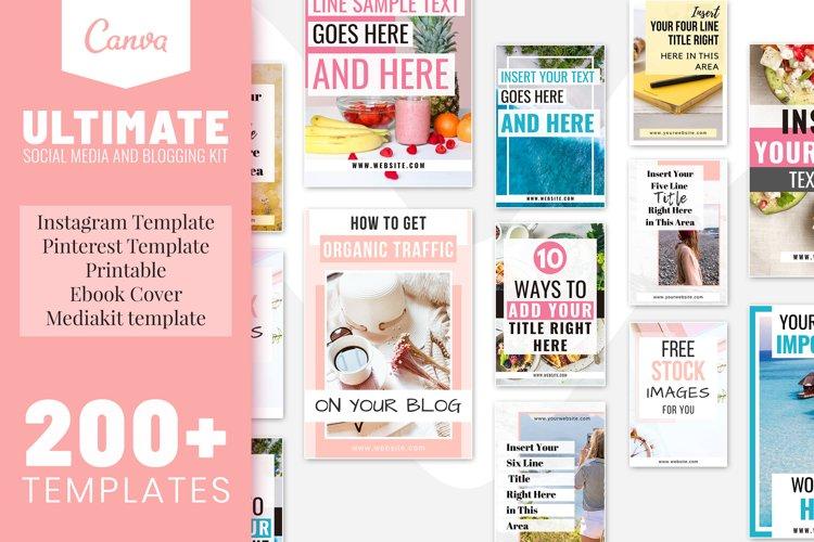 Ultimate Social Media and Blogging Kit Bundle example image 1