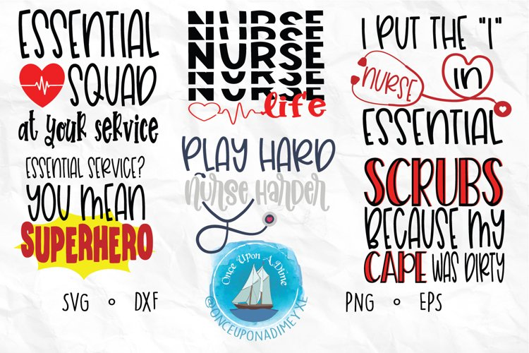 Nurse Bundle | Nurse | Healthcare SVG Cut File