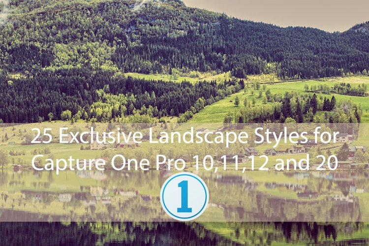 20 Exclusive Landscape Styles for Capture One 10,11,12,20 example image 1