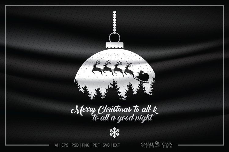 Merry Christmas, Santa Claus, Christmas, PRINT, CUT & DESIGN example image 1