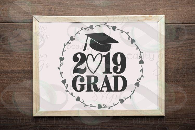 2019 Grad svg and png, 2019 Graduate svg, Graduate 2019 svg