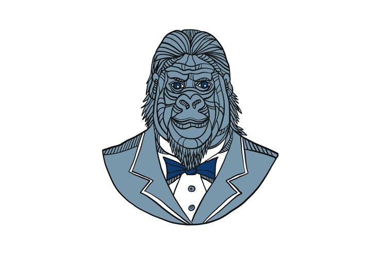 Gorilla Tuxedo Jacket Monoline Color example image 1