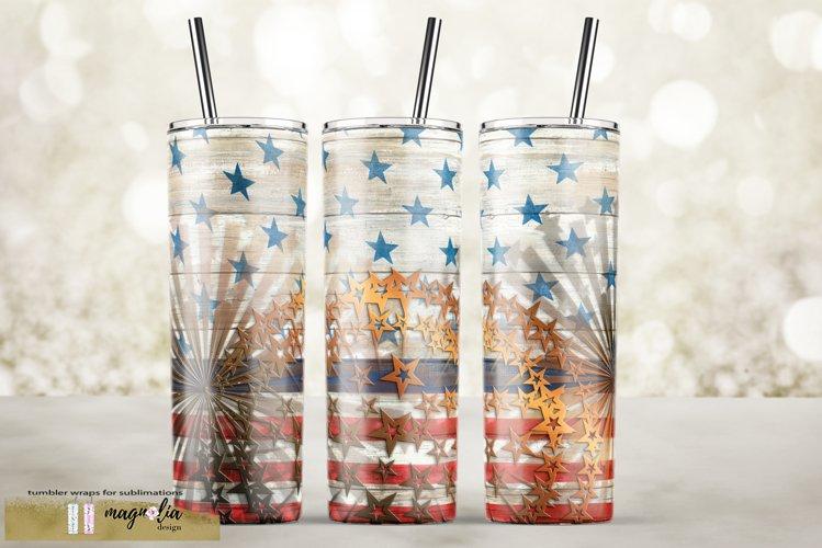 veteran tumbler png Patriotic tumbler design USA flag example image 1