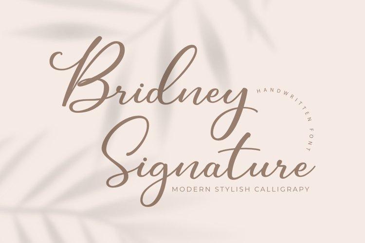 Bridney Signature