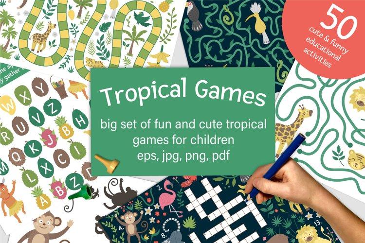 Download Tropical Games 538338 Educational Design Bundles