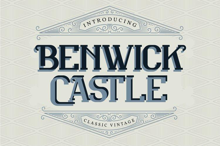 Benwick Castle| Classic Vintage Font