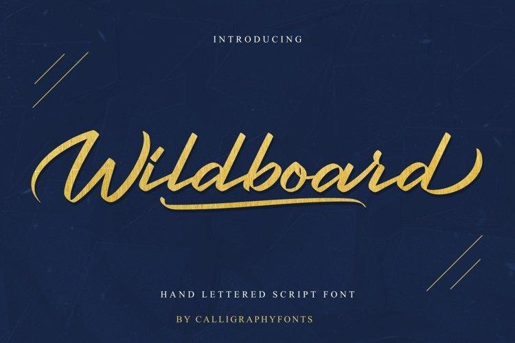 Wildboard example image 1