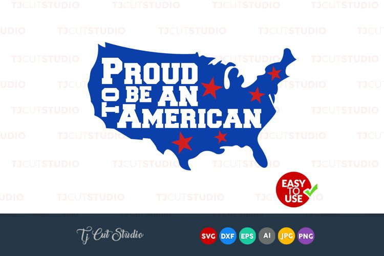 Proud To Be American Svg Proud American 4th Of July Bow Svg Files For Silhouette Cameo Or Cricut Commercial Personal Use 94772 Cut Files Design Bundles