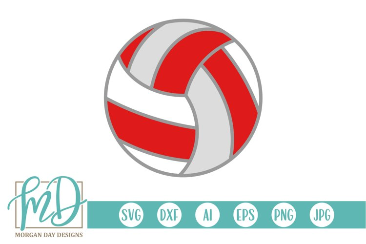 Volleyball Clipart - Volleyball SVG example image 1
