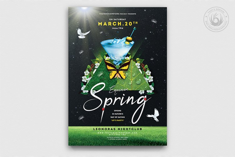 Spring Day Flyer Template V2