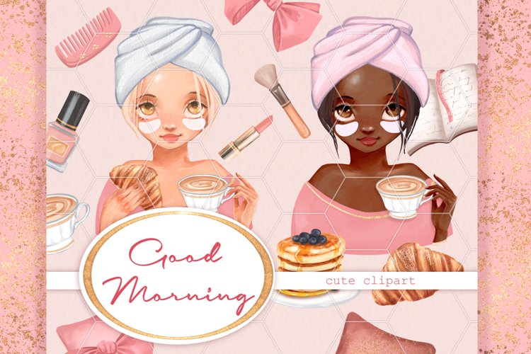 Good morning. Cute clipart example image 1
