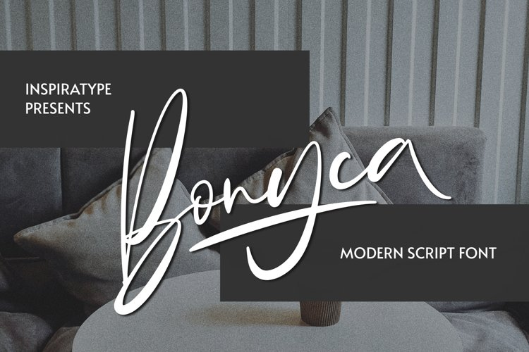 Bonyca - Modern Script