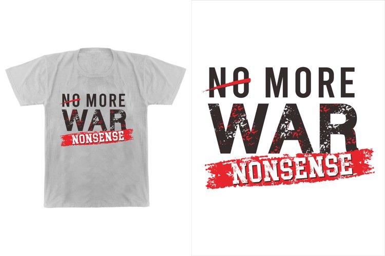 no more war example image 1