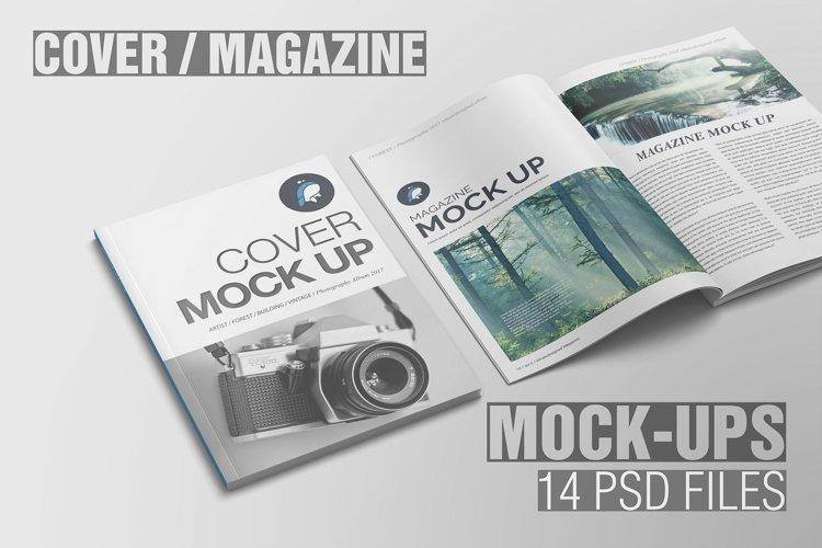Magazine Mockup example image 1