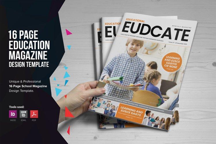 Education Magazine Brochure v1 example image 1