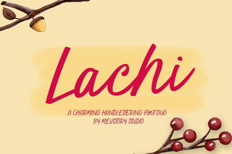 Lachi Font Duo example image 1