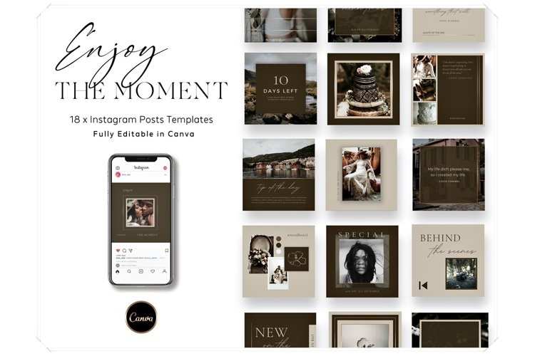 Instagram Posts Canva Template - Photographer