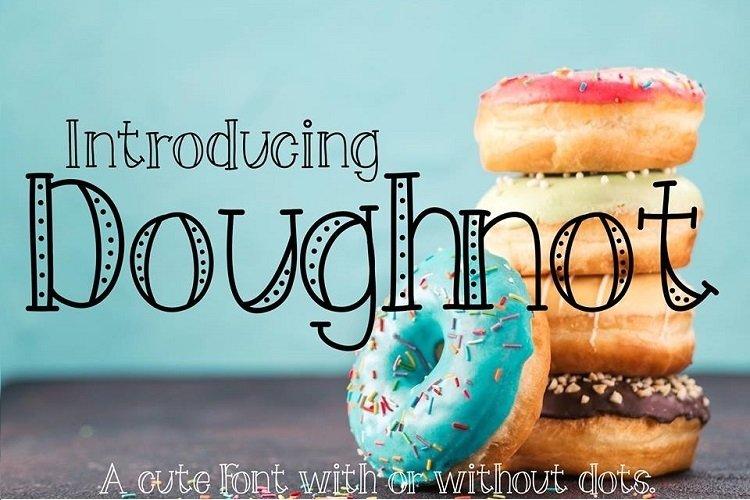 Doughnot Font example image 1