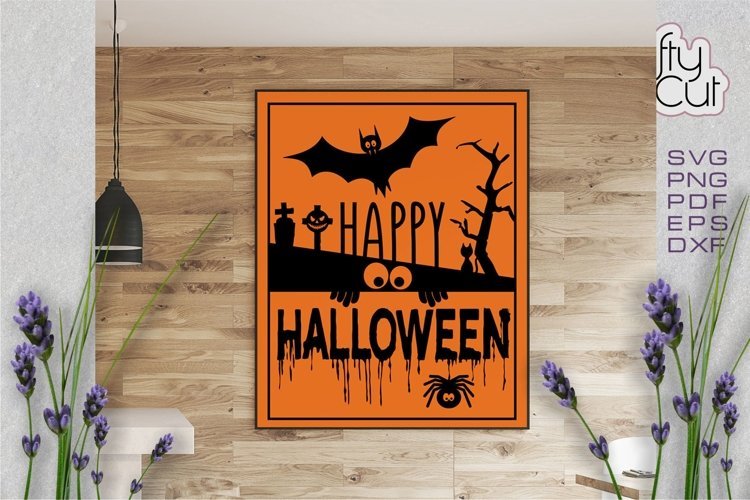 Halloween svg file Trick or Treat cut file example image 1