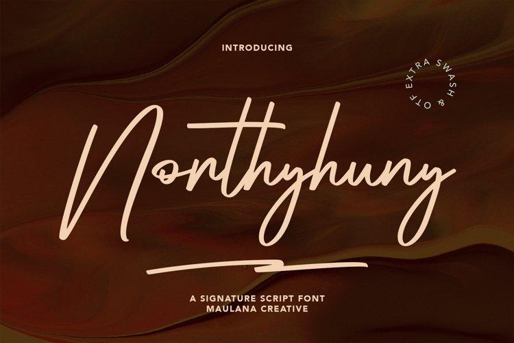 Northyhuny Signature Script example image 1