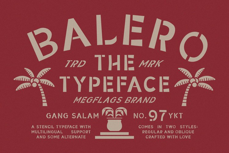 Balero Stencil example image 1