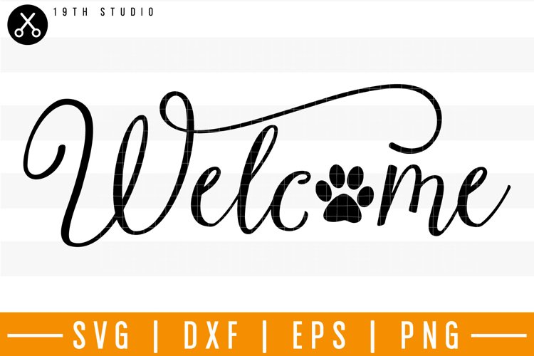 Welcome SVG | M25F20