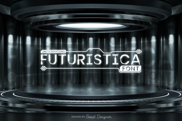 Futuristica - Future Space Sci-fi Font
