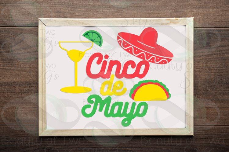 Cinco de Mayo svg & png, Taco svg, Margarita svg example image 1