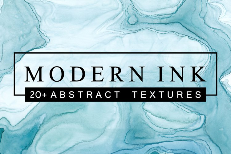 MODERN INK - Abstract Textures Pack example image 1