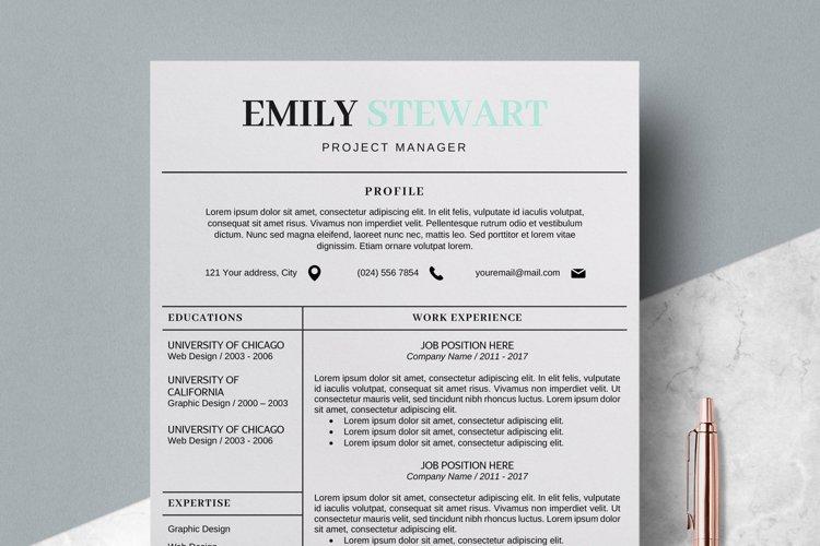 Creative CV Templates & Simple Resume Template - Emily