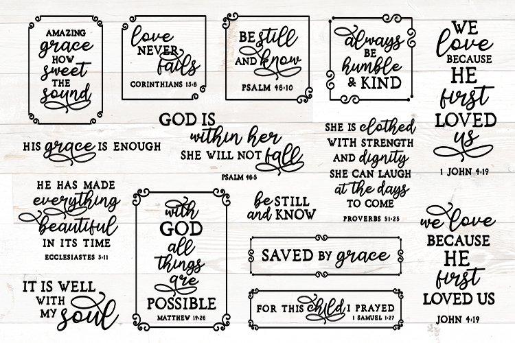 Vol 2 bible verses svg bundle, christian svg bundle quotes example image 1