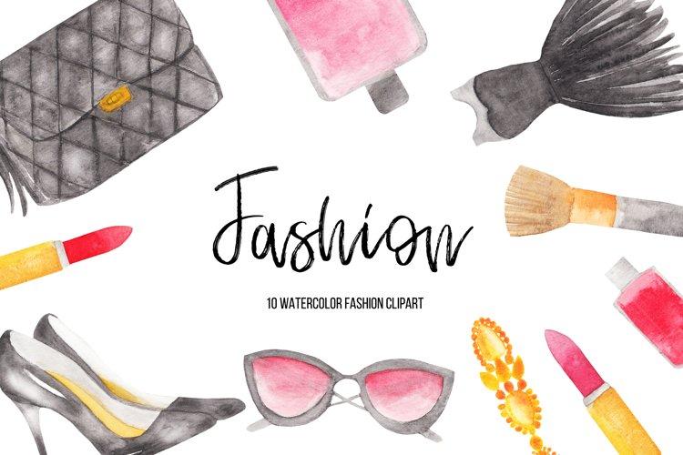 Watercolor Fashion illustrations, Sublimation Designs