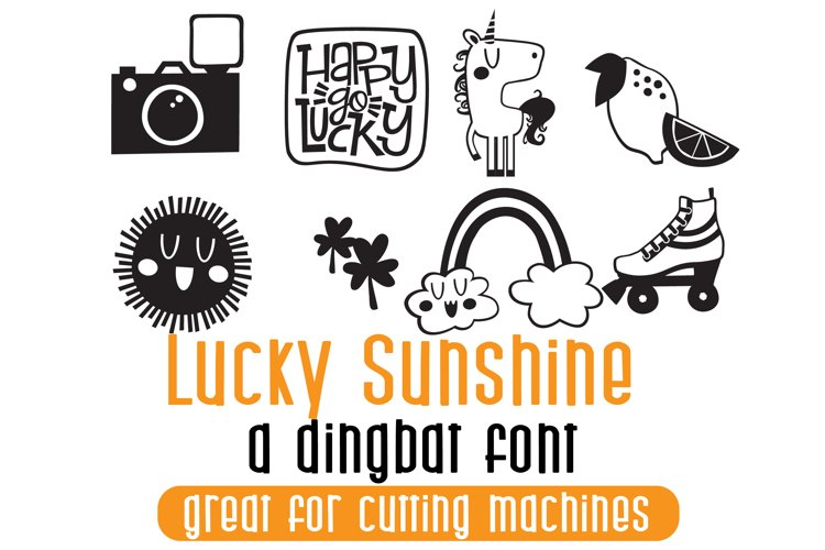 DB Lucky Sunshine - Free Font of The Week Font