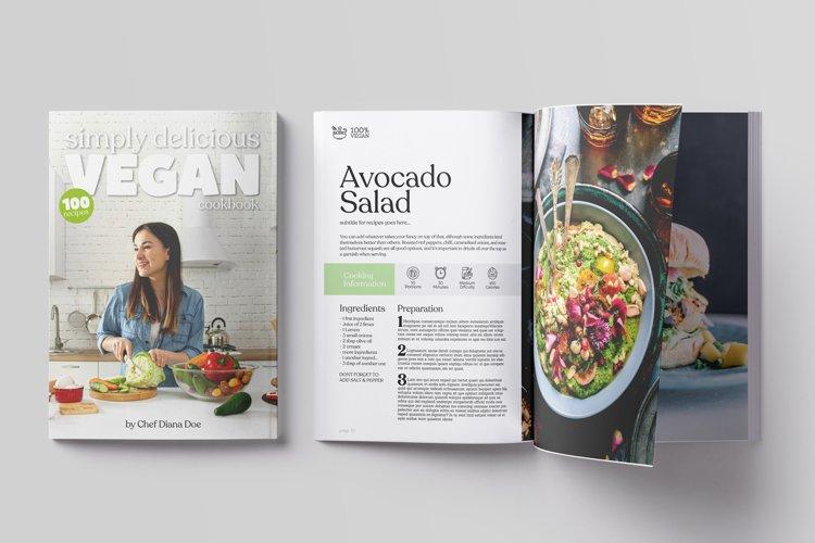 64 pages Vegan CookBook Magazine