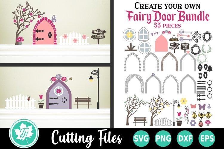 Create Your Own Fairy House SVG Cut File Bundle