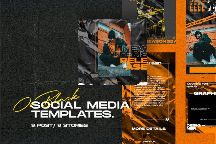 OrBlack Social Media Templates