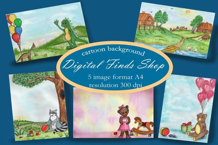 kids background , baby digital paper set plus bonus