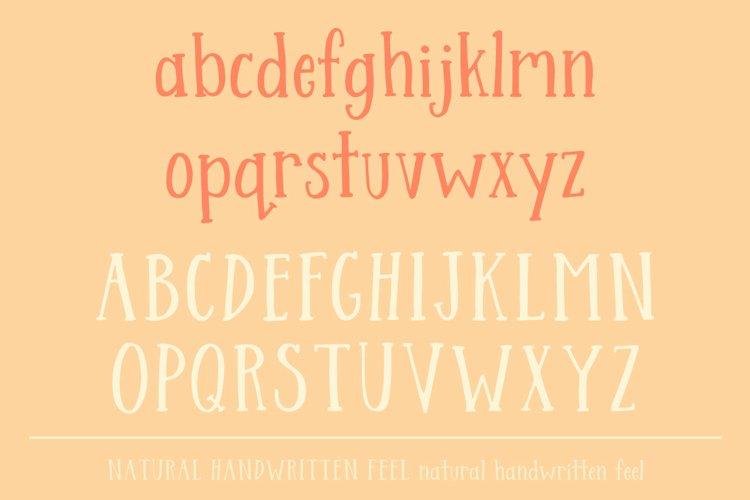 Streusel Kuchen Handwritten Serif Font example 5