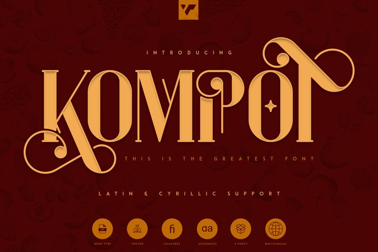 Kompot - This is the Greatest Font example image 1