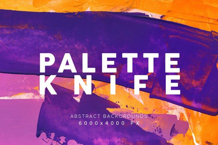 Palette Knife Paint Textures 1