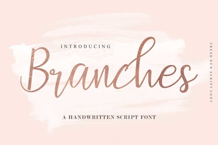Web Font Branches example image 1