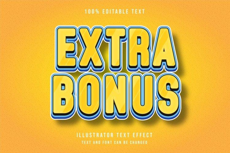 Extra bonus - Text Effect example image 1