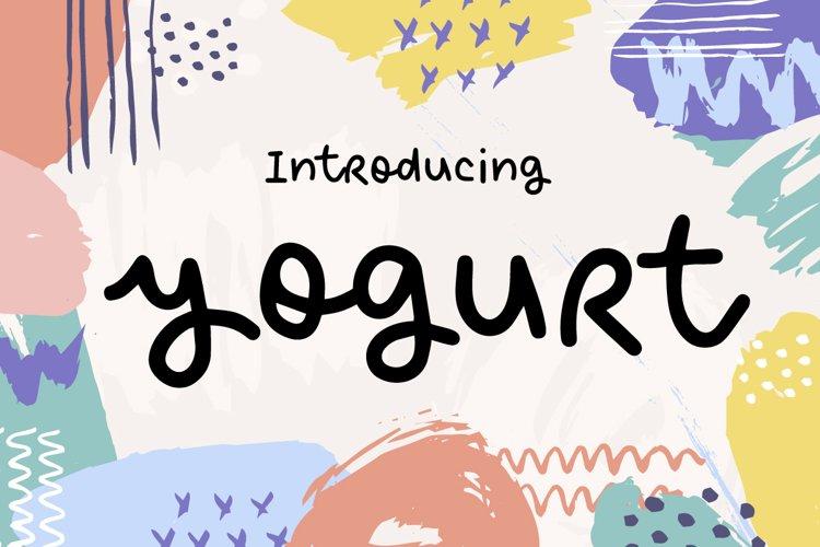 Yogurt example image 1