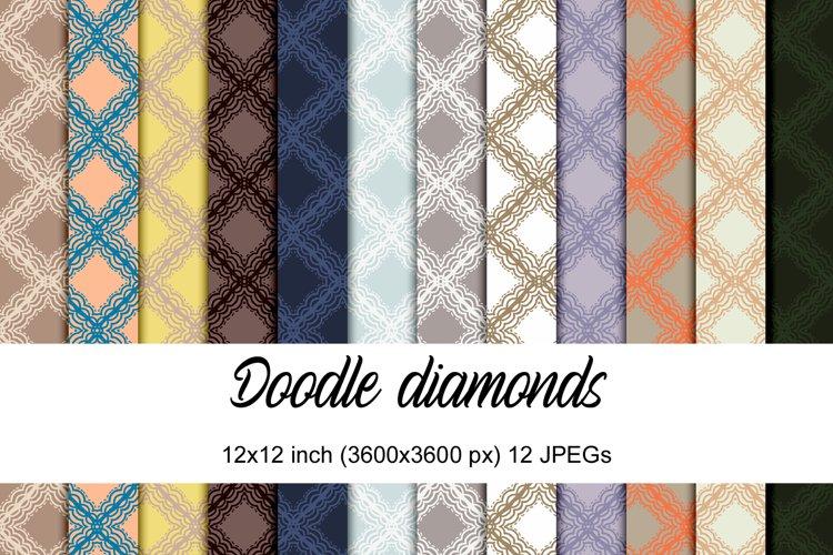 Doodle diamonds