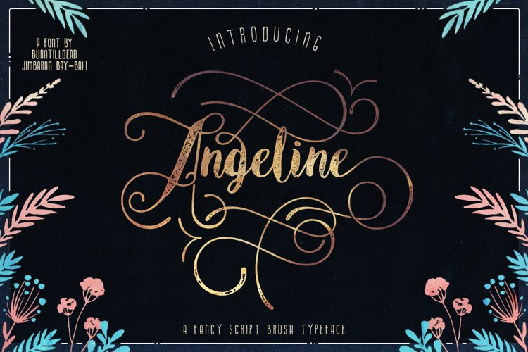 Angeline Font + SWASHES