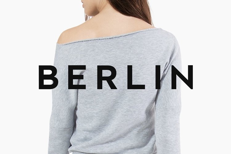 BERLIN - Minimal Typeface & Web Fonts