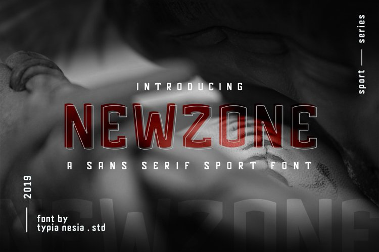 Newzone - Sport Sans Font example image 1