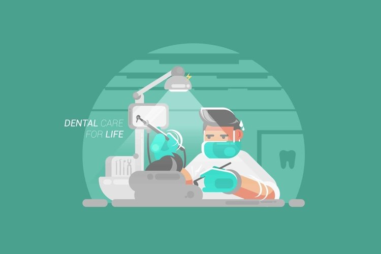 Dental Care for Life - Vector Activity